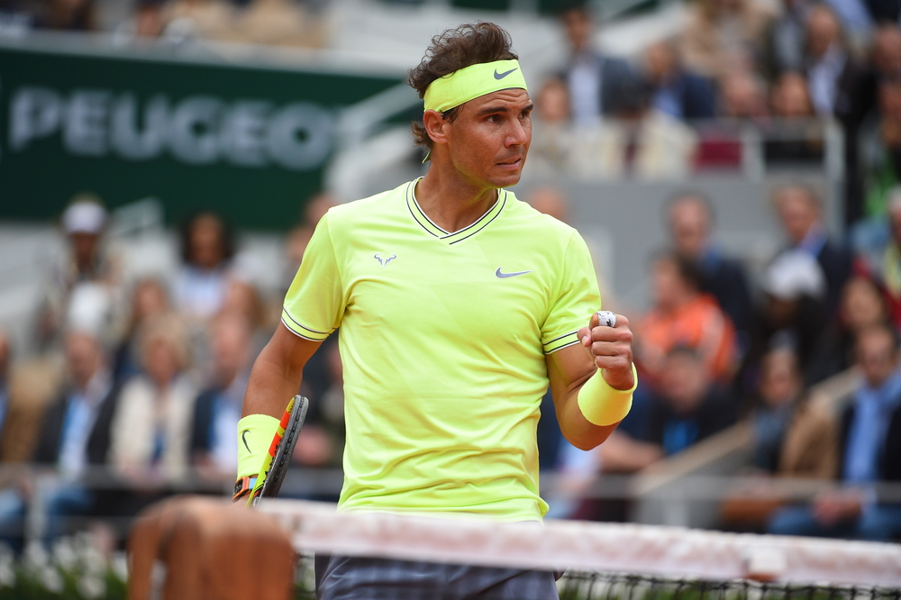 Rafael Nadal, Roland Garros 2019, Simple Messieurs, 1/2 Finale, Photo : Corinne Dubreuil / FFT